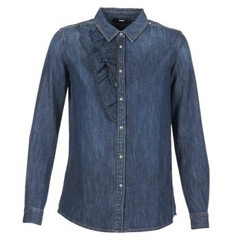textil Mujer camisas Diesel DE KELLY Azul