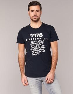 textil Hombre camisetas manga corta Diesel T DIEGO NB Negro
