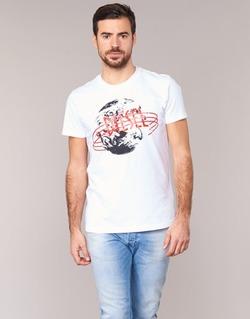 textil Hombre camisetas manga corta Diesel T DIEGO NC Blanco
