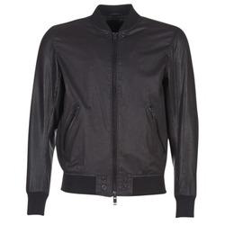 textil Hombre Chaquetas de cuero / Polipiel Diesel L POWELL Negro