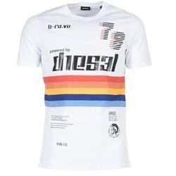 textil Hombre camisetas manga corta Diesel T JOE OB Blanco