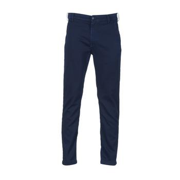 textil Hombre pantalones chinos Diesel SLIM CHINO JOGGJEANS Azul / 0680F