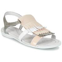 Zapatos Mujer Sandalias Pataugas CANDY/V F2C Blanco / Gris / Rosa