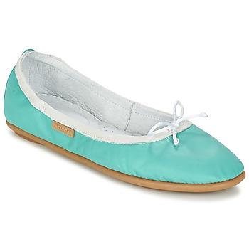 Zapatos Mujer Bailarinas-manoletinas Pataugas SANOK F2C Turquesa