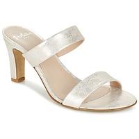 Zapatos Mujer Zuecos (Mules) Perlato ADINILE Plata