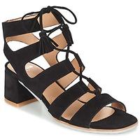 Zapatos Mujer Sandalias Perlato QUEZOKA Negro