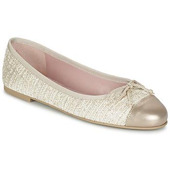 Zapatos Mujer Bailarinas-manoletinas Pretty Ballerinas AMI Oro / Rosa