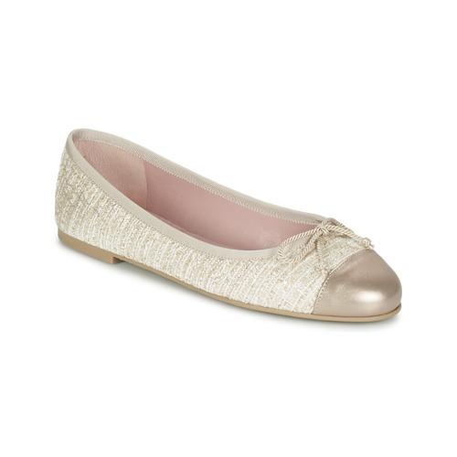 Zapatos promocionales Pretty Ballerinas AMI Oro / Rosa  Zapatos de mujer baratos zapatos de mujer