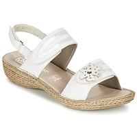Zapatos Mujer Sandalias Rieker MIOLOI Blanco