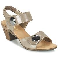 Zapatos Mujer Sandalias Rieker GERITEDO Gris