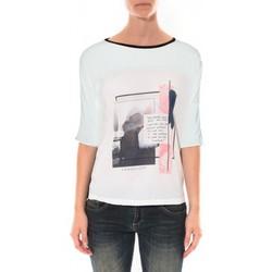 textil Mujer Tops y Camisetas Coquelicot Tee shirt   Blanc 16409 Blanco