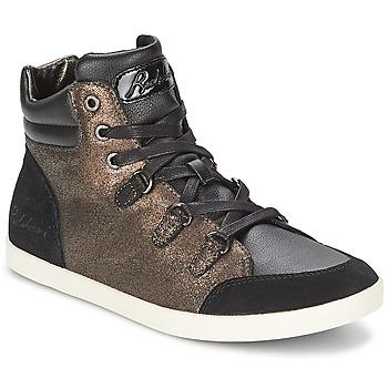 Zapatos Mujer Zapatillas altas Redskins CADIX Negro / Bronce