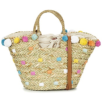 Bolsos Mujer Bolso shopping Pepe jeans MARLEY Beige / Multicolor