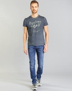 textil Hombre vaqueros rectos Pepe jeans TRACK Azul / N45
