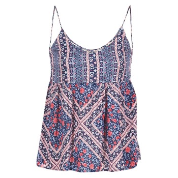 textil Mujer Tops / Blusas Pepe jeans MERY Azul / Rosa