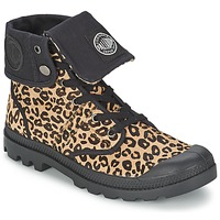 Zapatos Mujer Botas de caña baja Palladium BAGGY PN Leopardo