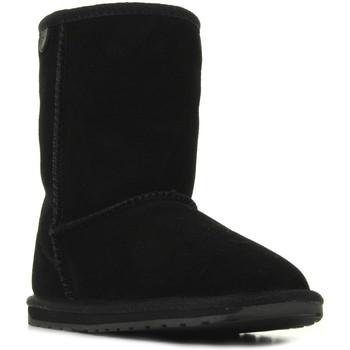 Zapatos Niña Botas de caña baja EMU Wallaby Lo Noir Negro