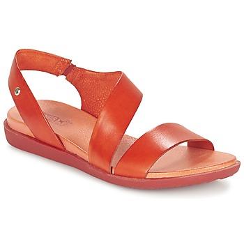 Zapatos Mujer Sandalias Pikolinos ANTILLAS W0H Rojo