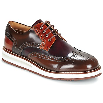Zapatos Hombre Derbie Barleycorn AIR BROGUE Marrón / Burdeo