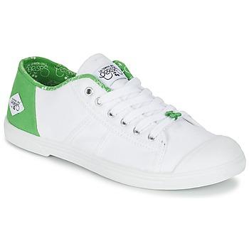 Zapatos Mujer Zapatillas bajas Le Temps des Cerises BASIC 02 Blanco / Verde