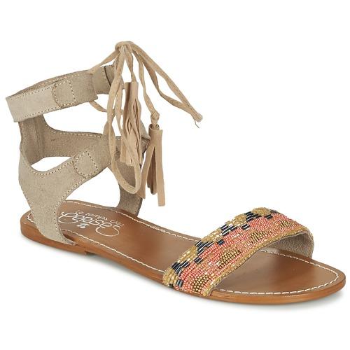 Zapatos Mujer Sandalias Le Temps des Cerises KAMPUR Beige