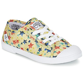 Zapatos Niña Zapatillas bajas Le Temps des Cerises BASIC 02 Amarillo