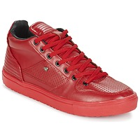 Zapatos Hombre Zapatillas altas Cash Money SUNDAY Rojo