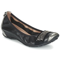 Zapatos Mujer Bailarinas-manoletinas Mam'Zelle FADILA Negro / Plata