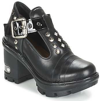 Zapatos Mujer Low boots New Rock DEZDO Negro