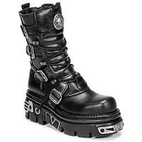 Zapatos Botas de caña baja New Rock NEMESIS Negro