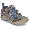 Zapatos Niña Sandalias Geox J SAND.KYLE A Marrón