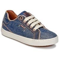 Zapatos Niña Zapatillas altas Geox J KIWI G. B Denim