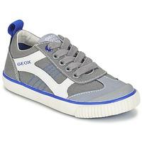 Zapatos Niño Zapatillas bajas Geox J KIWI B. J Gris