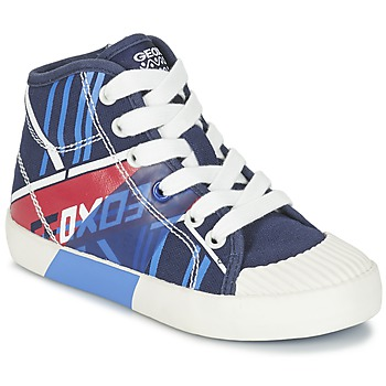 Zapatos Niño Zapatillas altas Geox J KIWI B. E Marino