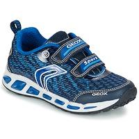 Zapatos Niño Zapatillas bajas Geox J SHUTTLE B.A Marino