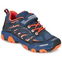 Zapatos Niño Zapatillas bajas Geox J MAGNETAR B. A Marino / Naranja