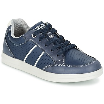 Zapatos Niño Zapatillas bajas Geox J ANTHOR B. B Marino / Blanco