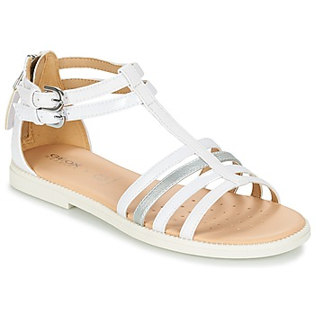Zapatos Niña Sandalias Geox J S.KARLY G. D Blanco