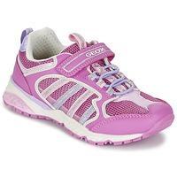 Zapatos Niña Zapatillas bajas Geox J BERNIE G. A Rosa / Lila