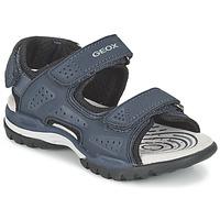 Zapatos Niño Sandalias de deporte Geox J BOREALIS B. B Marino