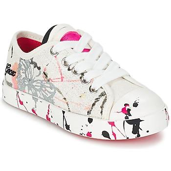 Zapatos Niños Zapatillas bajas Geox J CIAK G. D Blanco / Rosa