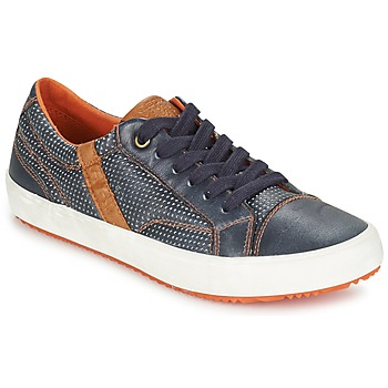 Zapatos Niño Zapatillas bajas Geox J ALONISSO B. A Marino / Marrón