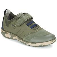 Zapatos Niños Zapatillas bajas Geox J NEBULA B. A Camo