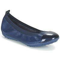 Zapatos Niña Bailarinas-manoletinas Geox J PIUMA BALL B Marino