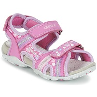 Zapatos Niña Sandalias de deporte Geox J S.ROXANNE A Rosa