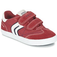 Zapatos Niño Zapatillas bajas Geox J KIWI B. M Rojo / Marino