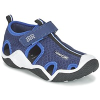 Zapatos Niño Sandalias de deporte Geox J WADER C Marino