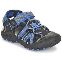 Zapatos Niño Sandalias de deporte Geox J SAND.KYLE C Negro / Azul