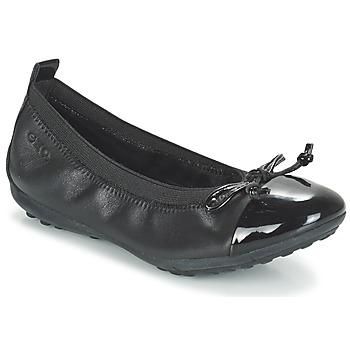 Zapatos Niña Bailarinas-manoletinas Geox J PIUMA BAL F Negro