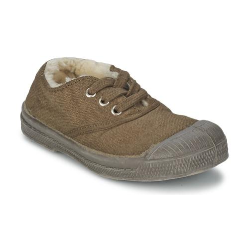 Zapatos Niños Zapatillas bajas Bensimon TENNIS FOURREES Marrón